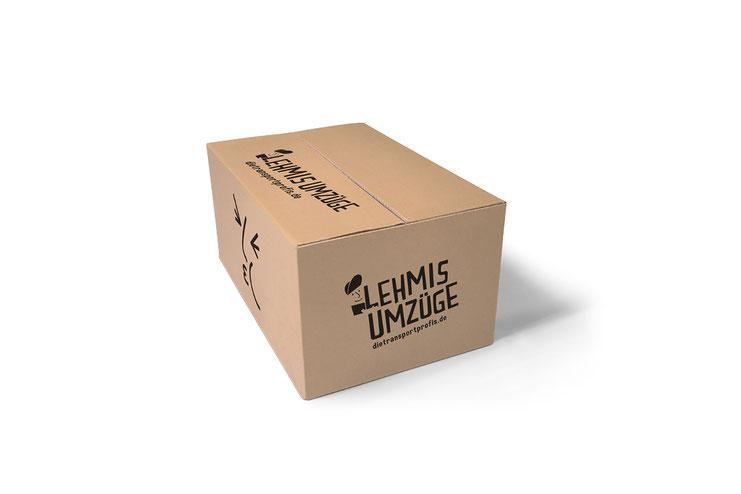 Branding Logo Aufdruck Karton