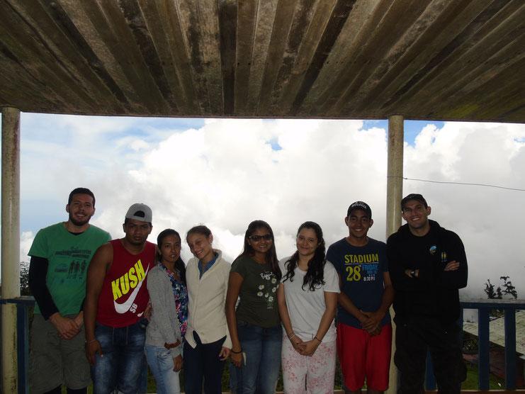 Estudiantes Herpetología Avanzada (2016-2)