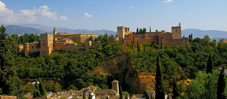 Circuit en Andalousie - Espagne