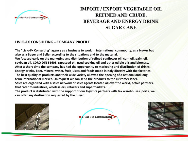 Company Profile - Agricultural Commodities