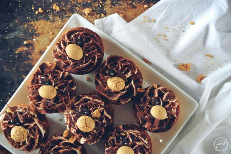 Tiramisu Cupcakes mit Amaretto