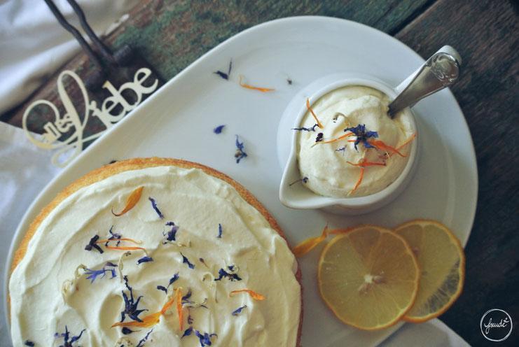 Traumhaftes Zitronentörtchen - zu Traumhaften Sommerwetterchen