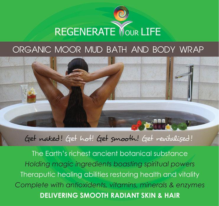Organic Moor Mud for natural skin-care