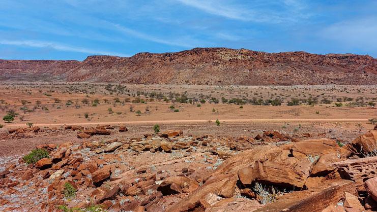 Twyfelfontein, Namibie