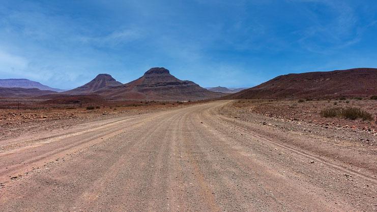 Piste rouge, Damaraland, Namibie