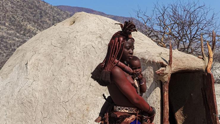 Femme Himba, Namibie