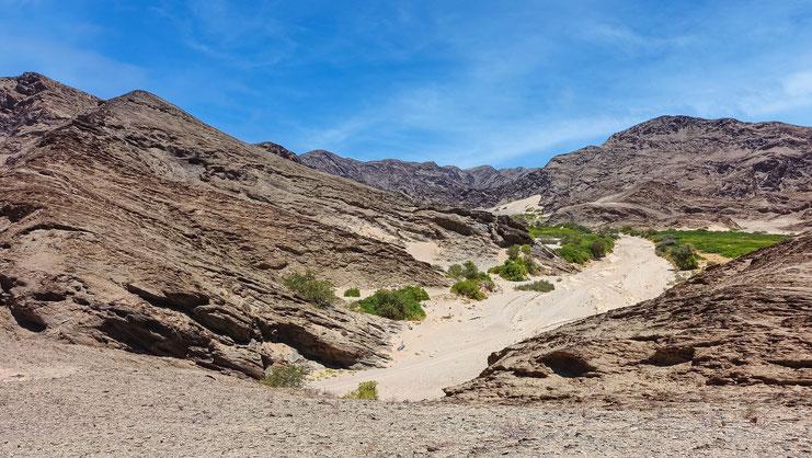 Paysage brûlé, Namibie