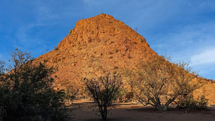 Soleil couchant, Namibie