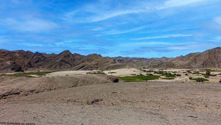 Paysage assoiffé, Namibie