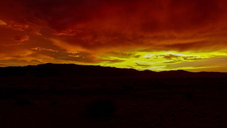 Paysage martien, Désert du Namib