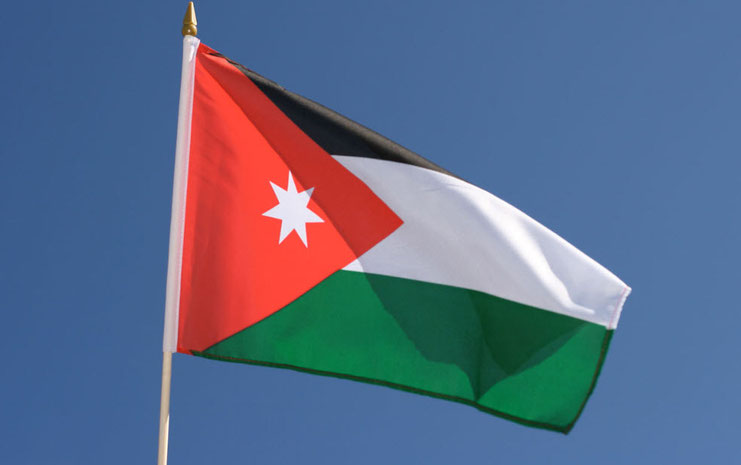 Jordanien - Copyright by Flaggenplatz.de