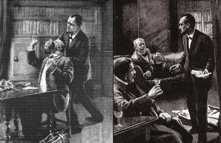 Alfred Gilbert Holmes-Illustration; Detektiv Saarbrücken, Detektei Saarland, Privatdetektiv