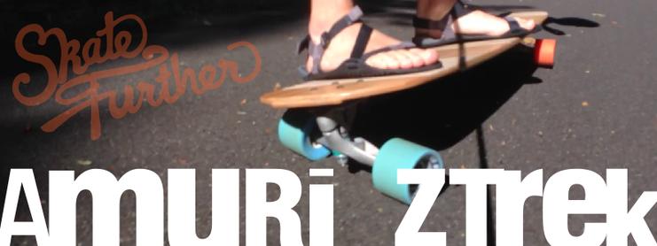 Amuri Z-Trek Barefoot Sandals from Xeroshoes