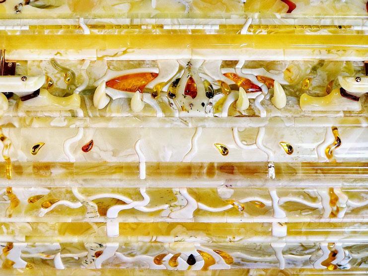 Янтарная мозаика, объёмная