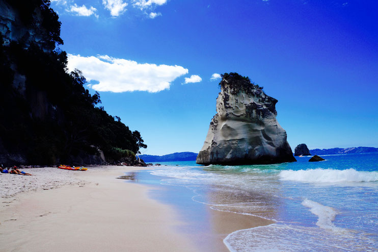 Cathedral Cove.