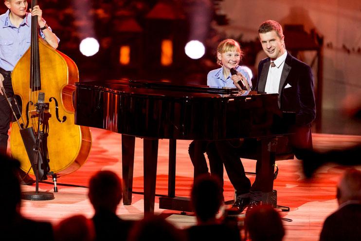 Alisha mit Nicolas Senn
