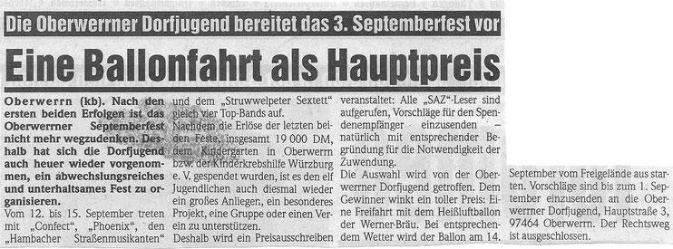 10.08.1997 Schweinfurter Anzeiger