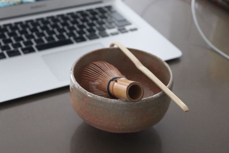 Online Japanese tea ceremony lesson