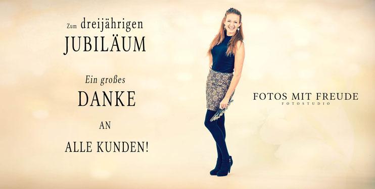 FOTOS MIT FREUDE - Fotostudio in Erlangen besteht jetzt bereits seit 3 Jahren und hat zahlreiche glückliche Kunden - Fotograf Erlangen