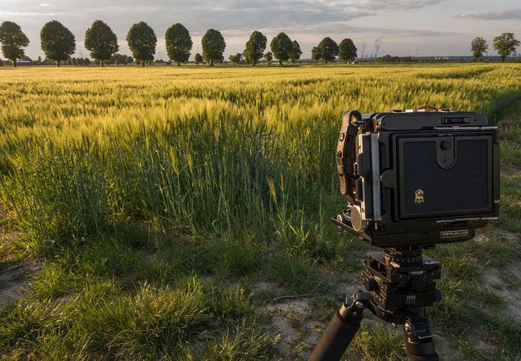 Landschaftsfotografie mit der WISTA 45SP Großformatkamera. Foto: bonnescape.de