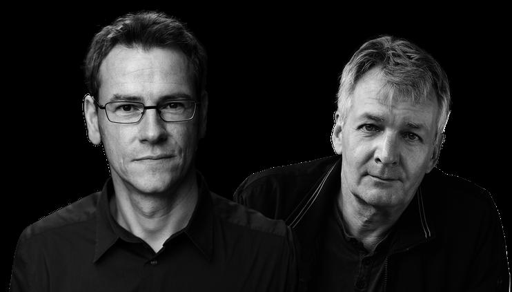 Oliver Bottini (Foto: Hans Scherhaufer), Jan Seghers (Foto: Susanne Schleyer, Autorenarchiv)