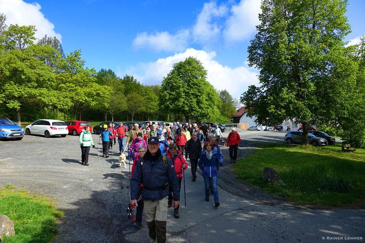 """2. Tag der """"2 x 2 Wandertage"""" des Westerwald-Verein"""
