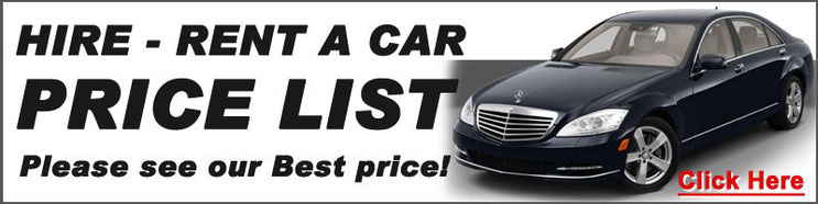 Hire car List