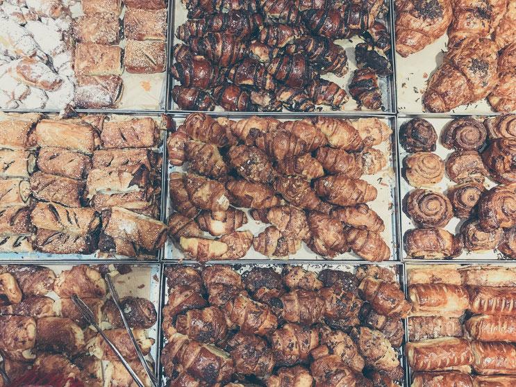 Jerusalem Israel ofpenguinsandelephants of penguins & elephants Mahane Yehuda market food pastries delicious