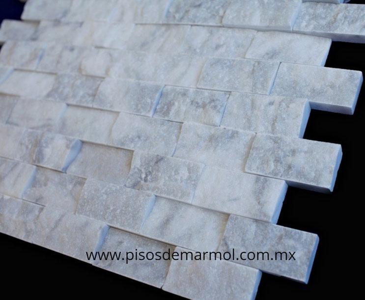 marmol blanco mosaico; mosaico marmol blanco; split face; mosaicos de marmol; marmol blanco mosaico; marmol blanco carrara