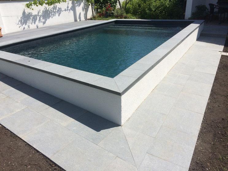 Schwimmb der lorenz bau pool for Poolsanierung folie