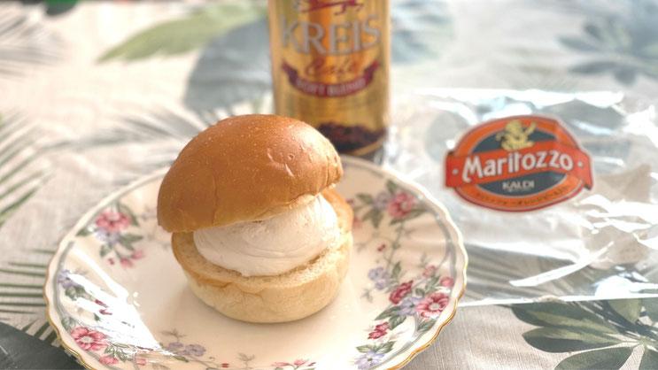 KALDI Afternoon snack マリトッツォtoKREIS Cafe