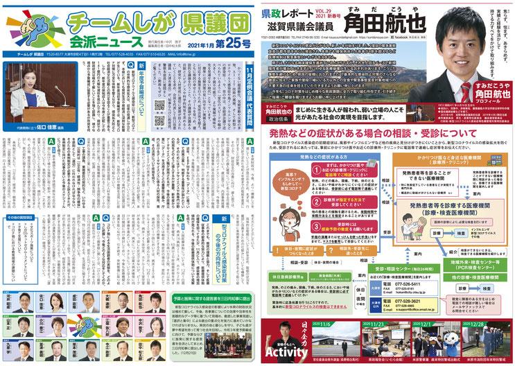県政レポート VOL.29 表面