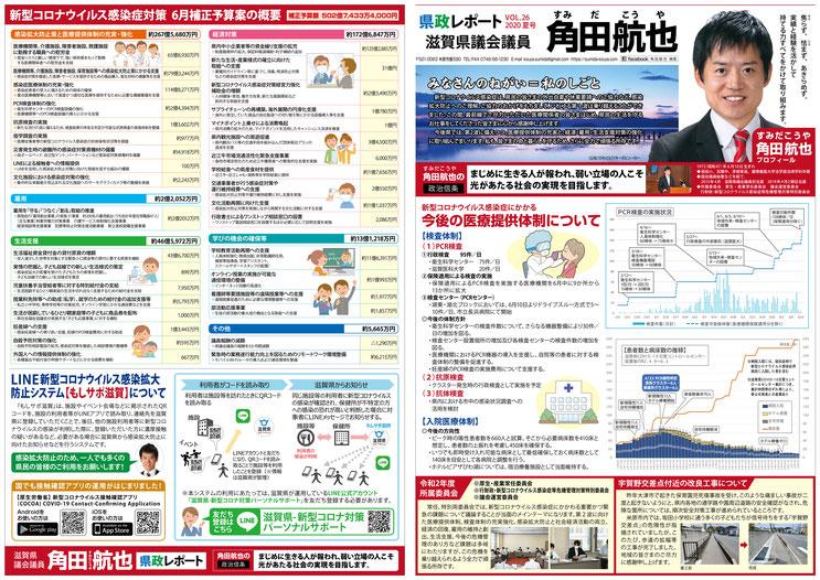 県政レポート VOL.26 表面