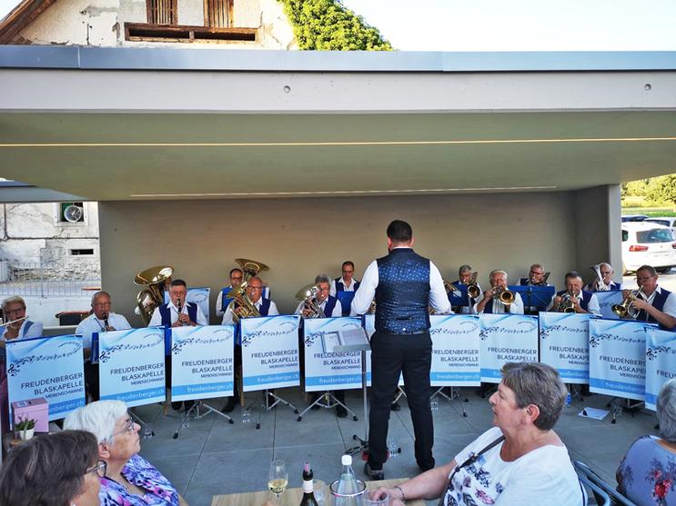 Konzert in Oberlunkhofen, Freudenberger Blaskapelle