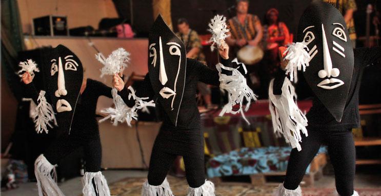 Kakilambé - ein Maskentanz aus Westafrika