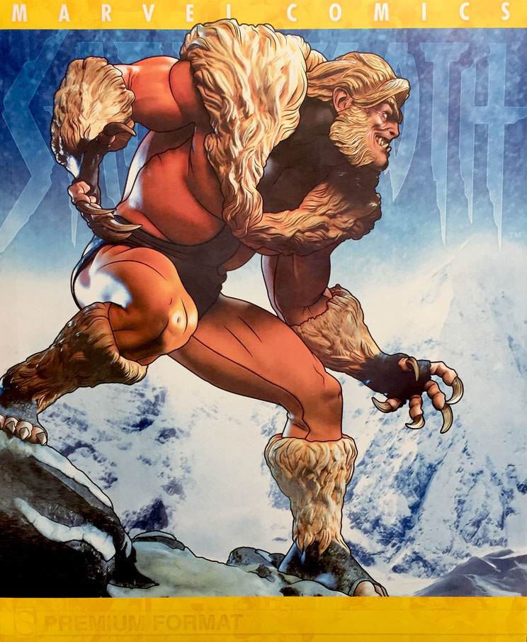 Sabretooth Classic 1/4 Premium Format Statue Wolverine Marvel Comics Sideshow