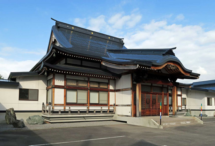 東川寺改修工事後