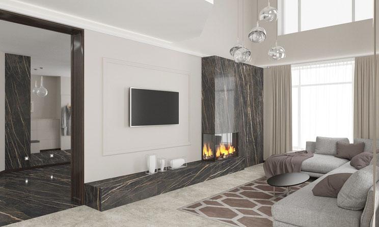 Дизайн интерьера квартиры двадцать лет назад: фотография интерьера квартиры