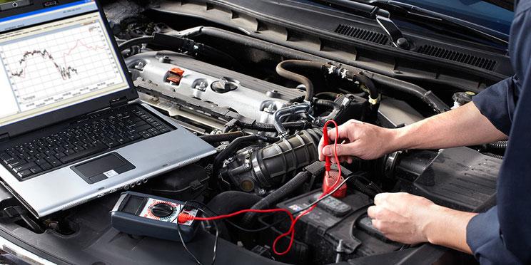 Fahrzeugdiagnose OBD Diagnose Fehlerspeicher Elektronik Mechatronik