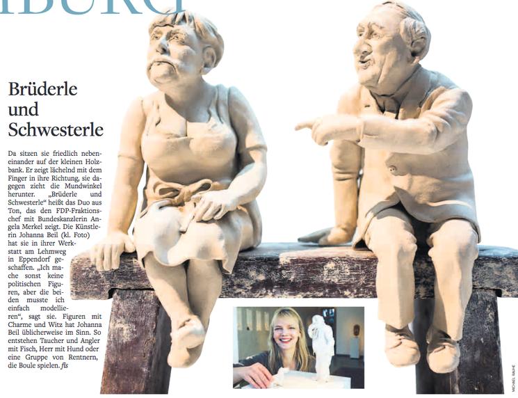 Brüderle und Schwesterle /  Welt Hamburg / Freitag, 17. Mai 2013