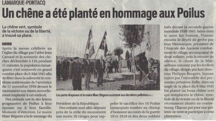 publié La république 13 novembre 2018 article Louis Ichouribéhere