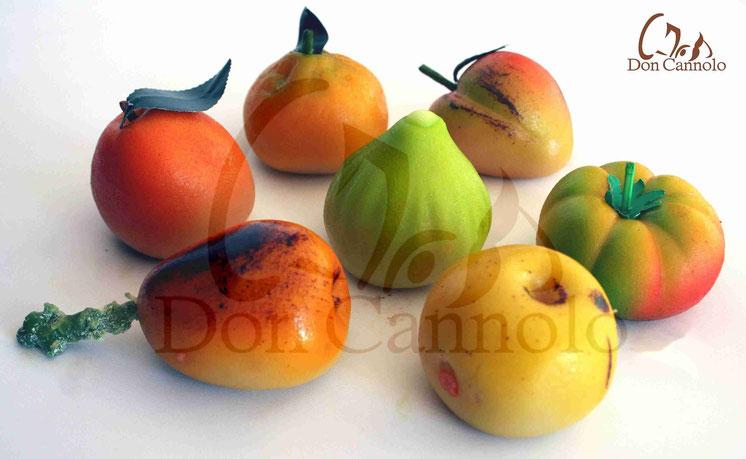 Spedizioni a domicilio frutta martorana di marzapane