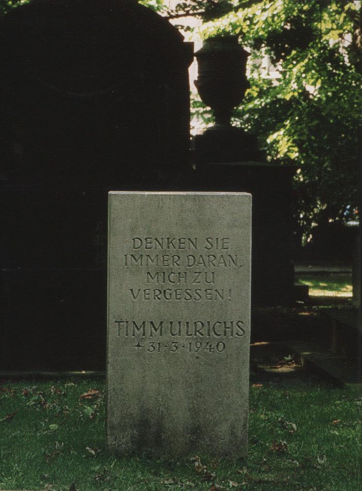 Grabstein, 1969
