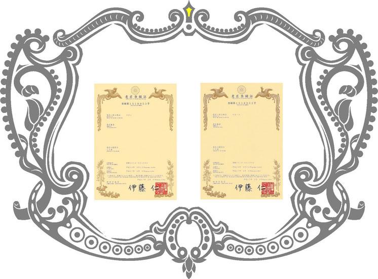 さかさまデニムスカートとさかさまデニムパンツの意匠登録