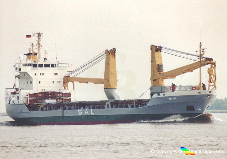 SAL Schwergutfrachter Trina, Typ 139, Elbe 2005
