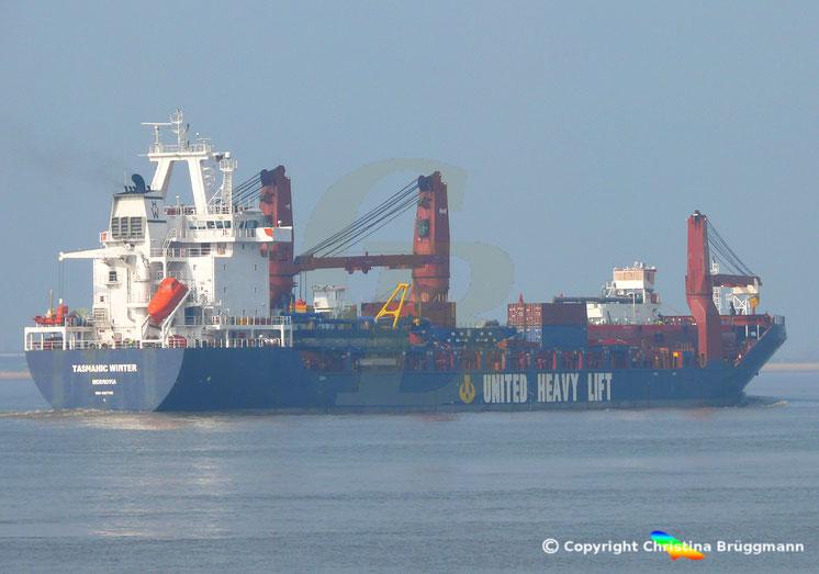United Heavy Lift Schwergutfrachter TASMANIC WINTER