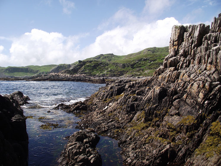 rocks, Scoor Beach, Isle of Mull, Scotland, UK