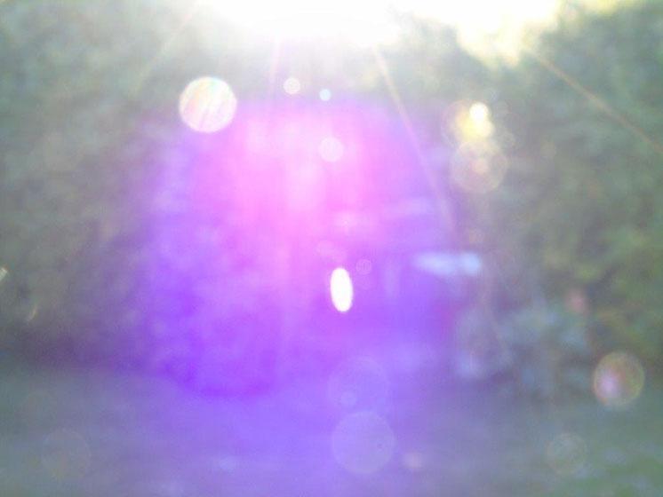 Violette Flamme der Transformation, Quelle: www.lichtwesenfotografie.com