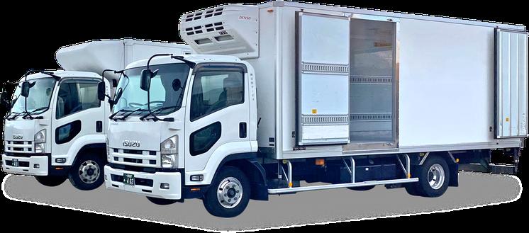 運送、運輸、冷凍、冷蔵、トラックドライバー