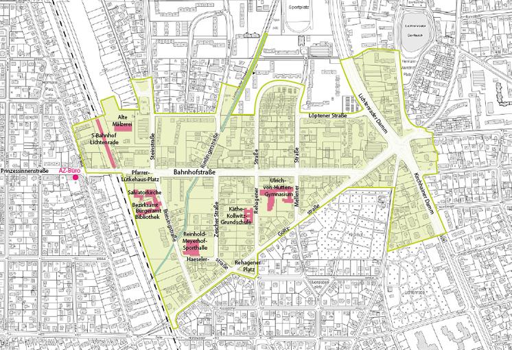 Quelle: die raumplaner 2021, Kartengrundlage: Geoportal Berlin / Karte von Berlin 1:50.000 (K5)